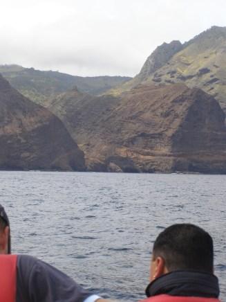 The precipitous valleys that meet the sea