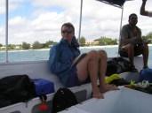 Jeremy gets a little seasick