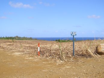 The route from the cane fields to the secret beaches
