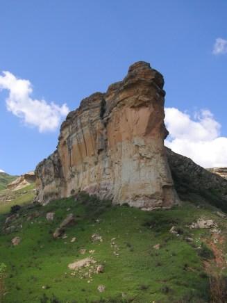 Amazing eroded landscape