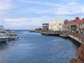 Barbados Careenage - the main harbour in Bridgetown