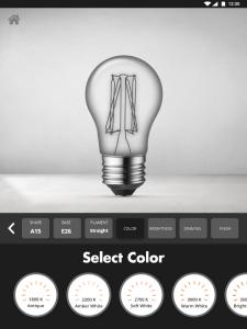 Bulb Configurator - Select Color