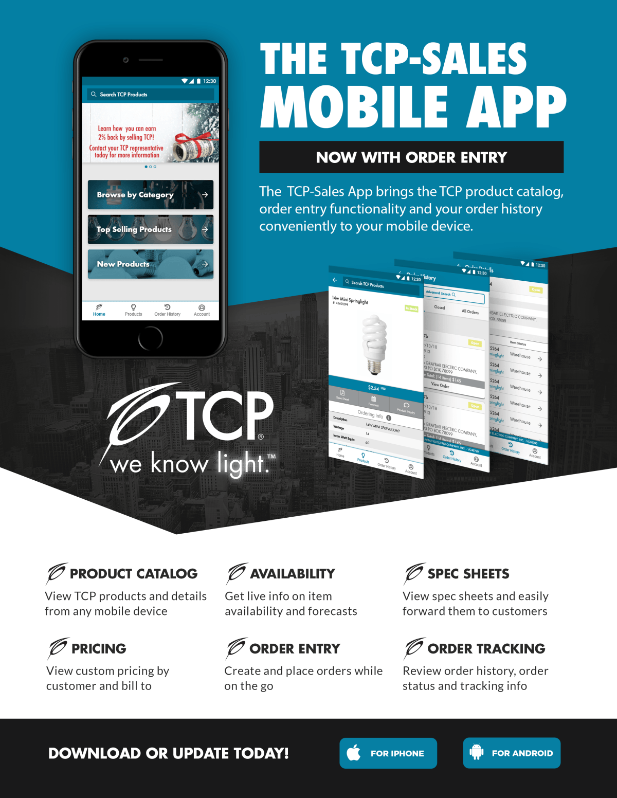 TCP Sales Mobile App