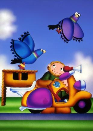Bob and his Pigeons