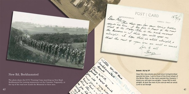 Postcards of Berkhamsted - Page sample