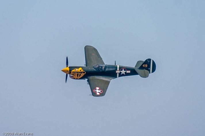 Curtiss P40K Warhawk