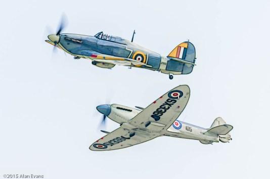 Hawker Sea Hurricane Mk Ib, Supermarine Seafire Mk XVII; FAA