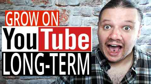 Grow On YouTube – 5 Long Term Growth Hacks