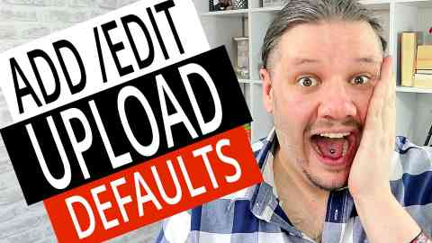 How To Add Edit Upload Defaults in NEW YouTube Studio 2019, alan spicer,alanspicer,asyt,startcreating,start creating,upload defaults,how to set upload defaults,default upload settings,how to use youtube upload defaults,youtube upload defaults,uploading defaults,youtube creator studio beta,how to add upload defaults,how to edit upload defaults,upload defaults youtube,youtube upload video settings,youtube upload default settings,youtube upload defaults tags,youtube studio,youtube channel settings,how to youtube,how to