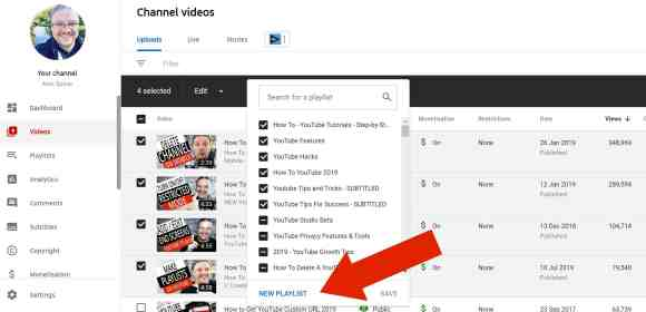 How To Make A Playlist on YouTube (with Pictures) 1
