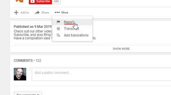 How To Report Videos on YouTube - Flag YouTube Videos