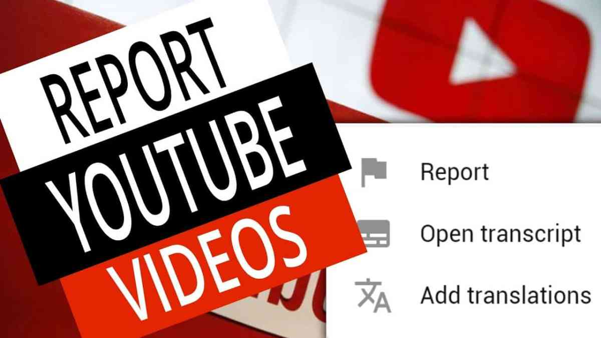 How To Report Videos on YouTube - Flag YouTube Videos 1