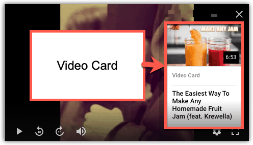 YouTube Cards [What They Are and How To Use Them] 2