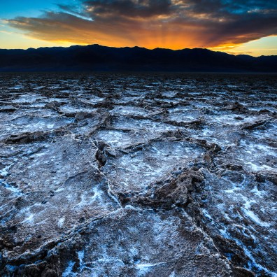 Bad Water Sunset – Death Valley, CA