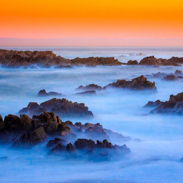 Boneyards Sunset - Pacific Grove, CA