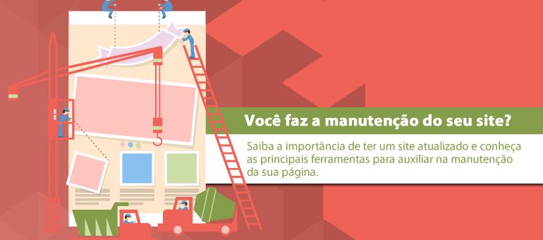 manutenção do seu site