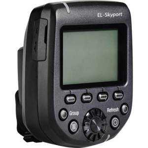 The new Elinchrom skyport allows for flash speeds of as fast as 1/8000 second.