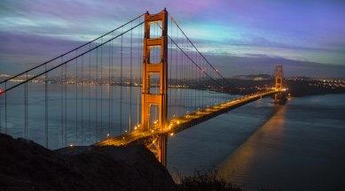 Golden Gate Bridge is an icon