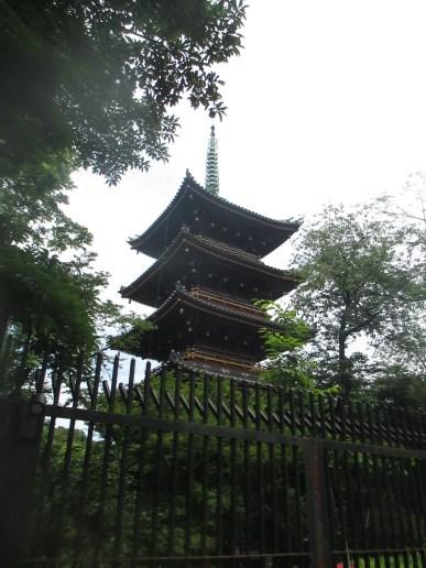 Pagoda, Ueno Park