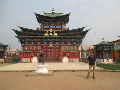 Main temple, Ivolginsky Datsan