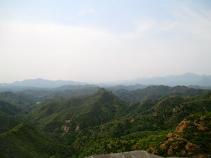 Landscape north of the Great Wall