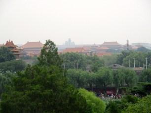 Forbidden City, from Beihai Park