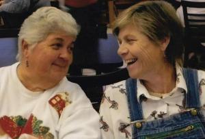 Susan and Reesa