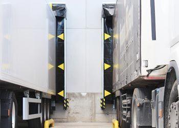 abrigos aislantes para muelles de carga: hinchable
