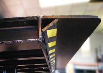 muelle de carga telescópico, detalles