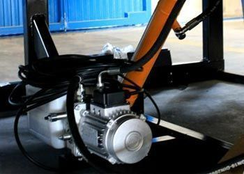 hydraulic group for loading docks
