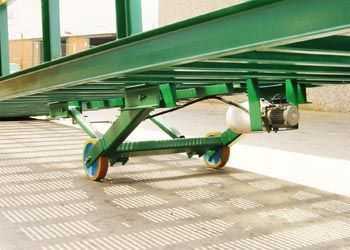 grupo hidráulico rampa transportable 12m