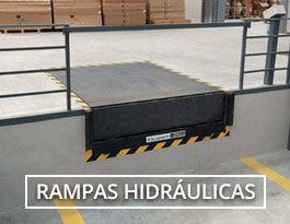 rampas para muelles de carga hidráulicas