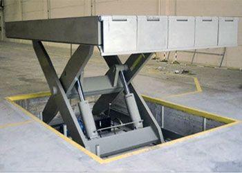 plataforma de tijera