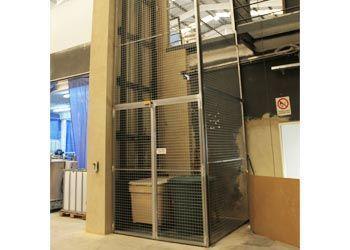 plataformas industriales de 1 columna