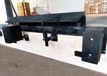 rampas mecánicas para muelles de carga