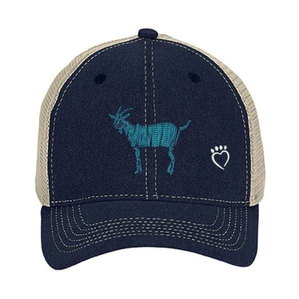 goat trucker cap