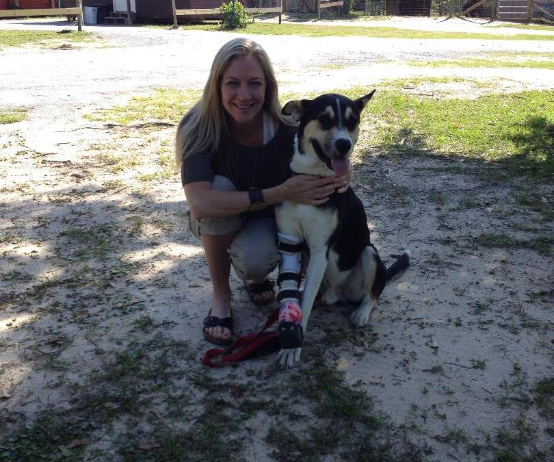 Alaqua Helps Manny Walk Again with Prosthetic Leg