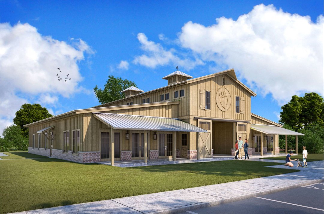 Alaqua's new welcome center
