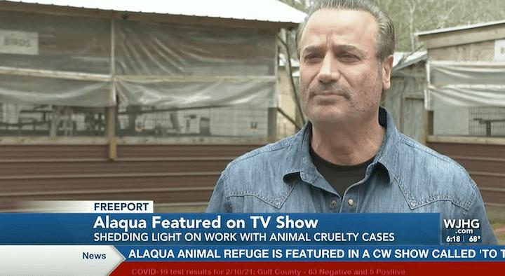 National Show Flms at Alaqua Animal Refuge