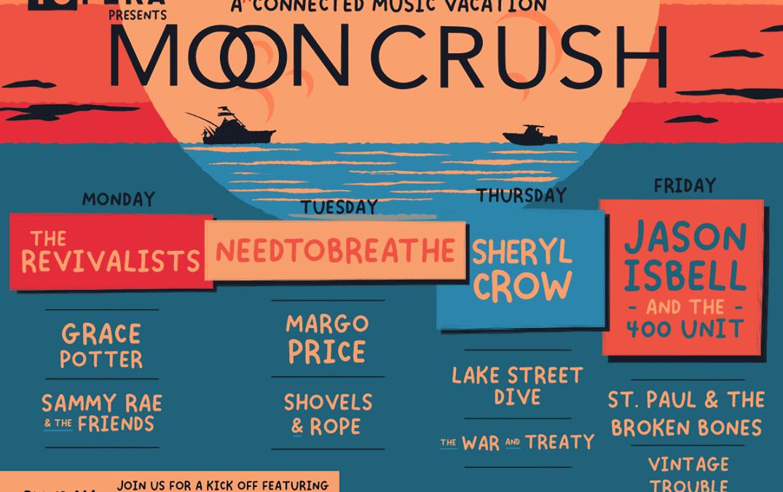 Moon Crush: Socially distanced music vacation to bring Jason Isbell, Sheryl Crow to Miramar Beach