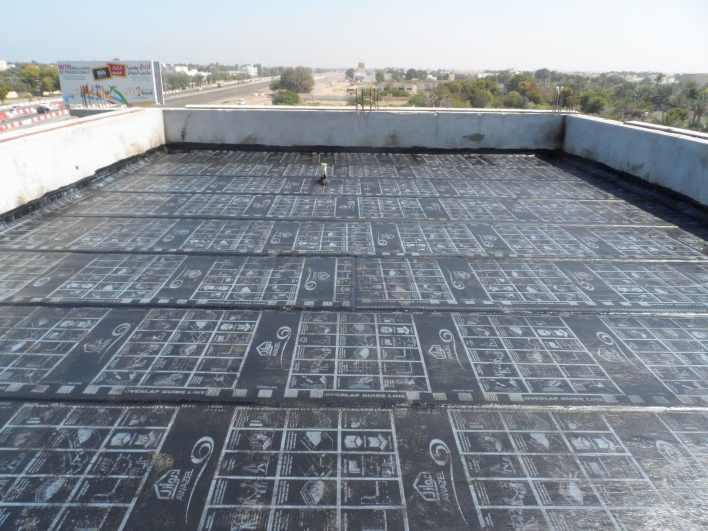 انواع العزل المائي للاسطح