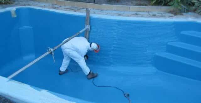 عزل مائي شفاف للمسابح والعزل الاسمنتي للمسبح