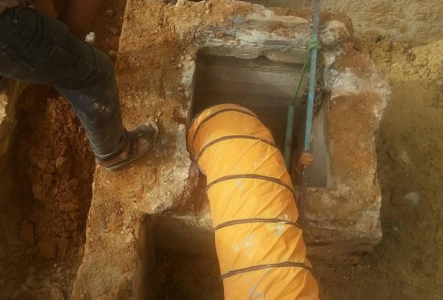 اخطر اضرار تسببها تسربات الخزان الارضي وعلاجها 0555717947