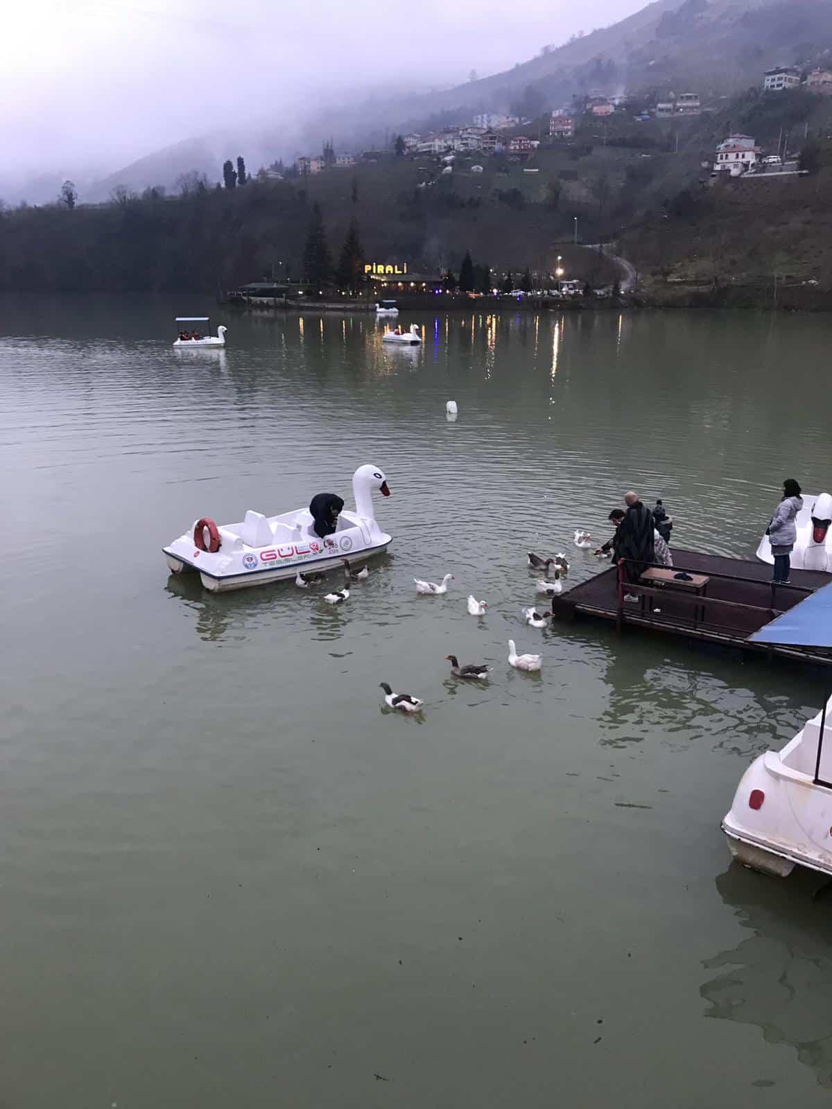 نزهة في بحيرة سيراجول