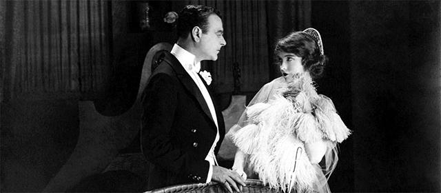 Lowell Sherman et Lillian Gish dans A travers l'orage (1920)