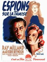 Affiche d'Espions sur la Tamise (1942)