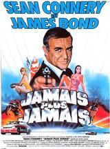 Affiche de Jamais plus Jamais (1983)