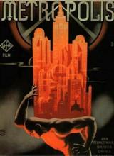 Affiche de Metropolis (1927)