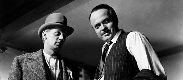 Joseph Cotten et Orson Welles dans Citizen Kane (1941)