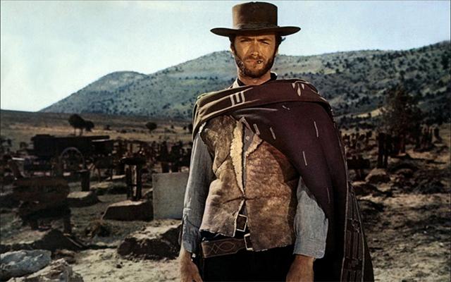 Clint Eastwood dans Le bon, la brute et le truand (1966)